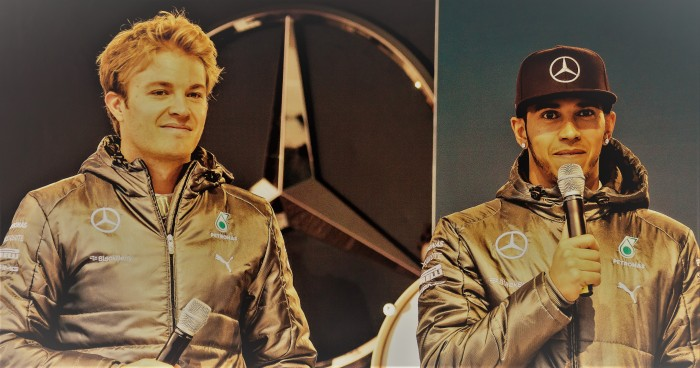 Rosberg and Hamilton: Two Different Champions