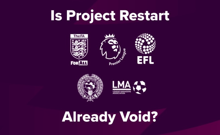 Is Project Restart Already Void?
